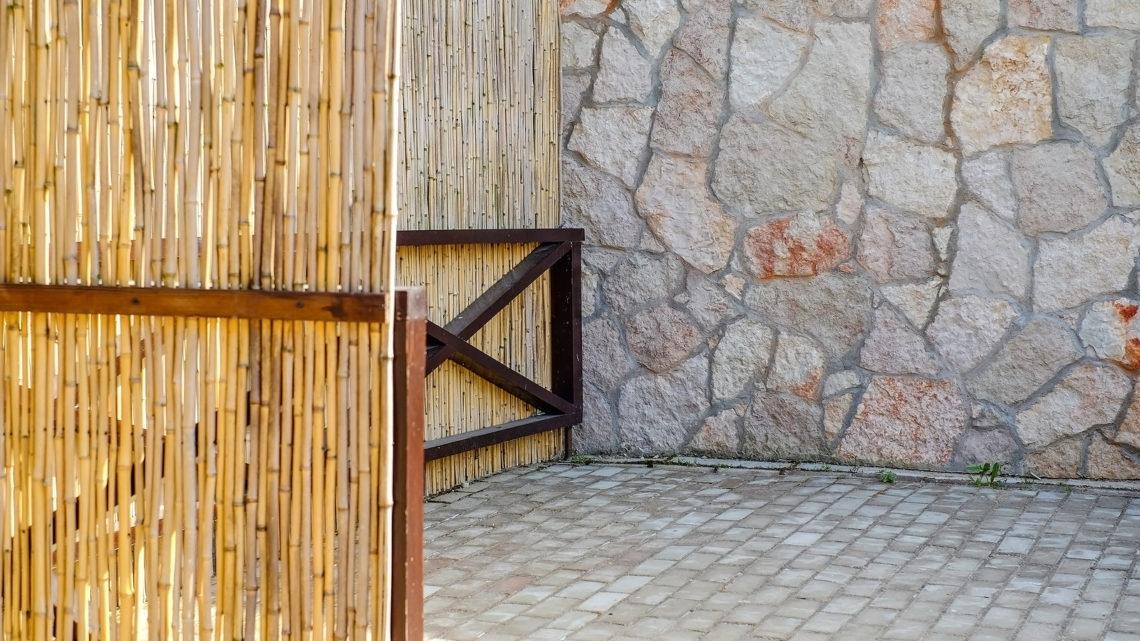 Bambusmatten Dekorativer Sichtschutz Fur Mehr Privatsphare Umzug